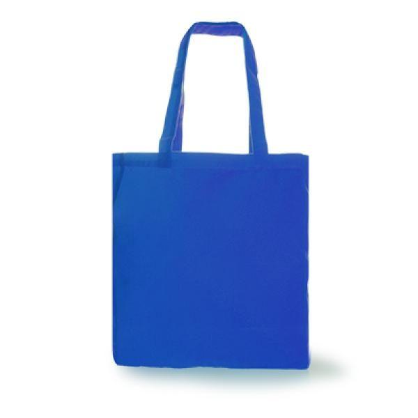 Trisit Canvas Tote Bag Tote Bag / Non-Woven Bag Bags Promotion Eco Friendly TNW1018-BLU[1]